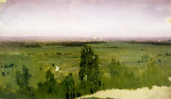 Вид на Москву с Воробьевых гор (1882 г.)