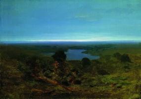 Озеро. Вечер (1908 г.)