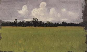 Осень. Степь (1875 г.)