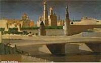 Вид на Кремль со стороны Замоскворечья. 1882
