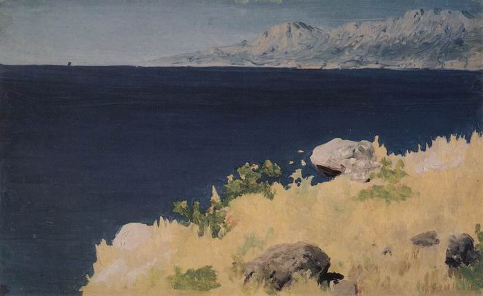 Морской берег. Крым.
