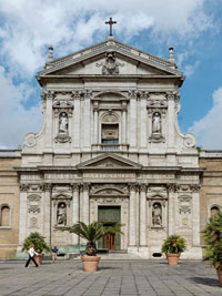 Капелла Коранаро в стиле барокко