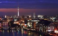 Ночной Берлин