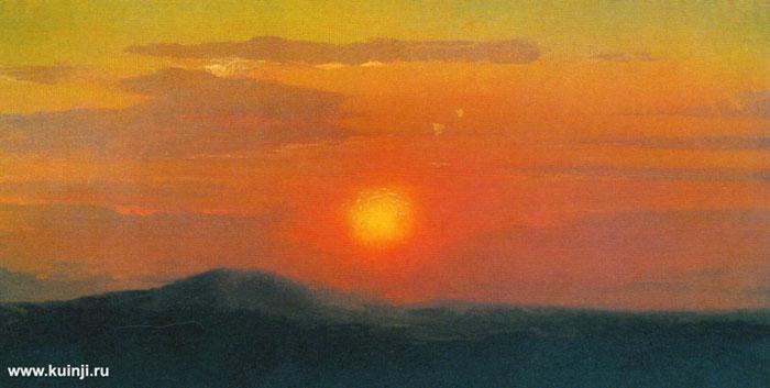 Красный закат (Куинджи А.И.)