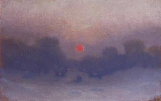 Зима. Оттепель (1895 г.)