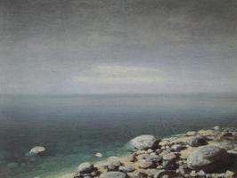 Прозрачная вода. Пасмурный день. Крым (1908 г.)