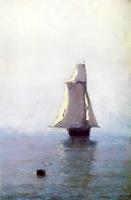 Море с парусным кораблем (1876 г.)