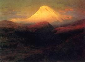 Эльбрус вечером (1899 г.)