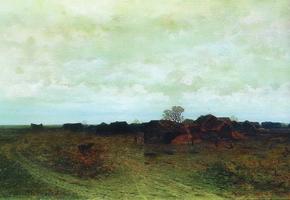 Забытая деревня. Фрагмент (1874 г. )