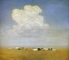 Полдень. Стадо в степи (1890-е гг.)
