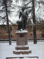 Памятник Беллинсгаузену в Кронштадте