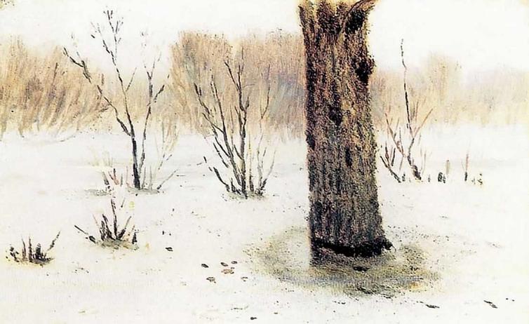 Зима. Оттепель.