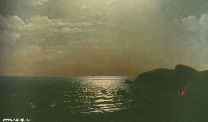 Лов рыбы на Черном море (Куинджи А.И.)