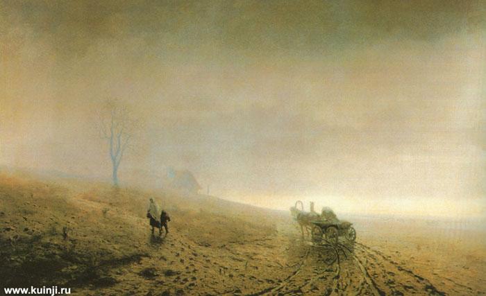 Осенняя распутица (Куинджи А.И.)