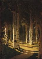 Солнечный свет в парке (1908 г.)