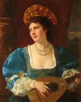 Портрет молодой женщины (Ф. Беккер)