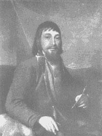 Портрет Билибина (после промывки)