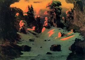 Эффект заката (1876 г.)