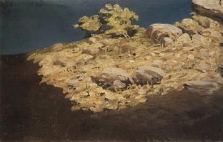 Горный склон. Крым (1890 г.)