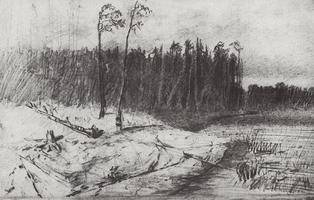 Лес у воды (1872 г.)