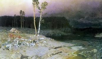 На острове Валаам (1873 г.)