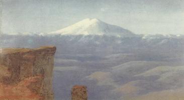 Туман в горах. Кавказ (1908 г.)