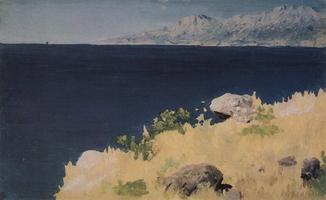 Морской берег. Крым (1890 г.)