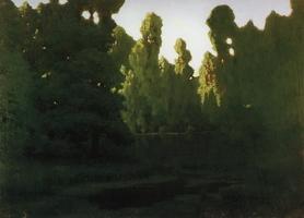 Лес. Лопухи (1908 г.)