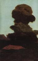 Дерево на фоне вечернего неба (1895 г.)